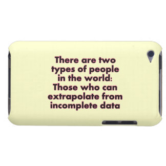 Extrapolate This iPod Touch Case-Mate Case