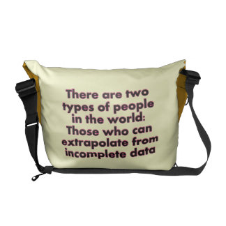 Extrapolate This Messenger Bag