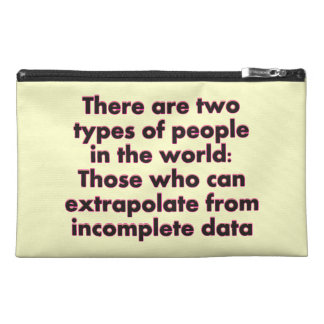 Extrapolate This Travel Accessory Bags