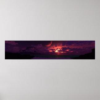 Extrasolar Panorama Poster