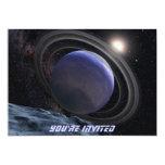 "Extrasolar Planet 5"" X 7"" Invitation Card"