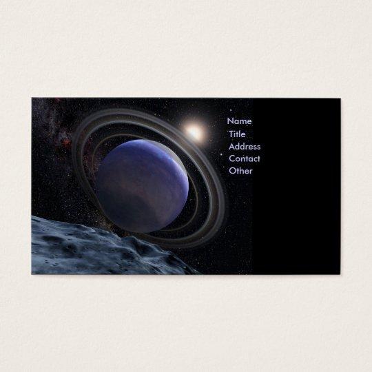 Extrasolar Planet Business Card