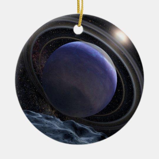 Extrasolar Planet Ceramic Ornament