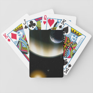 Extrasolar Planet Bicycle Poker Deck