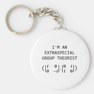 Extraspecial Group Theorist Keychain