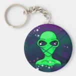 Extraterrestre Llavero Personalizado