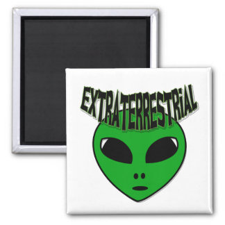 EXTRATERRESTRIAL 2 INCH SQUARE MAGNET