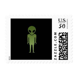 Extraterrestrial Alien Body Postage
