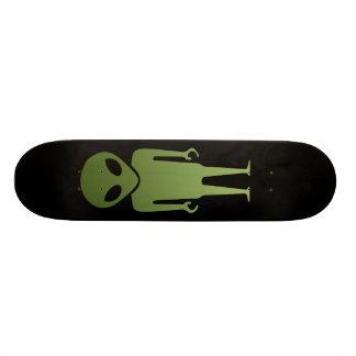 Extraterrestrial Alien Body Skateboard