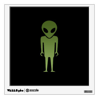 Extraterrestrial Alien Body Wall Sticker