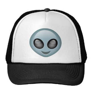 Extraterrestrial Alien Emoji Trucker Hat
