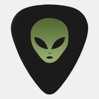 Extraterrestrial Alien Face Guitar Pick