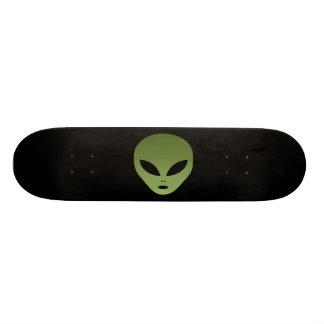 Extraterrestrial Alien Face Skateboard