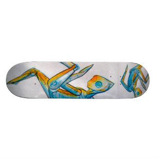 Extraterrestrial Alien Lifeform Skateboard Deck