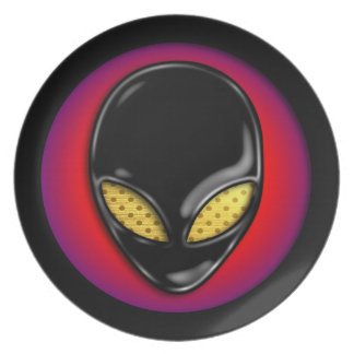 Extraterrestrial Being Party Plate
