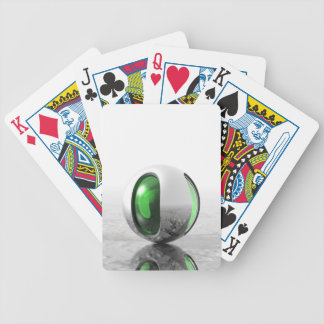 Extraterrestrial Bicycle Playing Cards