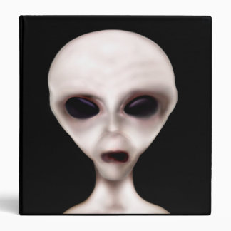Extraterrestrial Biological Entity 3 Ring Binder
