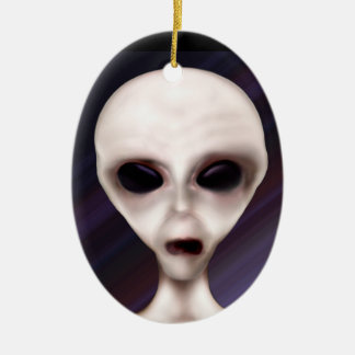 Extraterrestrial Biological Entity Ornament 2 side