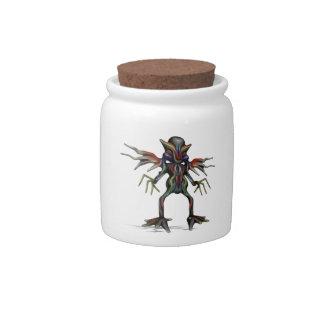 extraterrestrial candy jar