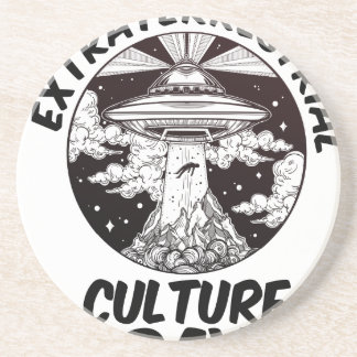 Extraterrestrial Culture Day - Appreciation Day Drink Coaster