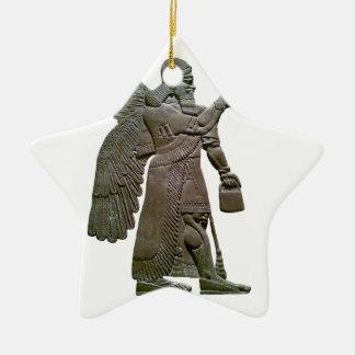 Extraterrestrial extranjero sumerio antiguo de Anu Ornamento Para Arbol De Navidad