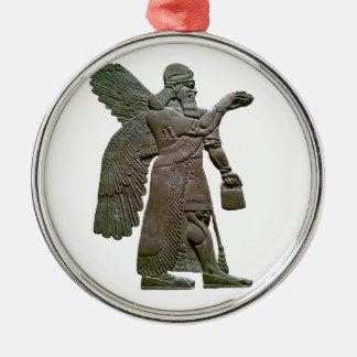 Extraterrestrial extranjero sumerio antiguo de Anu Adornos De Navidad