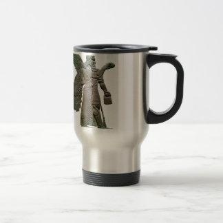 Extraterrestrial extranjero sumerio antiguo de taza de viaje de acero inoxidable