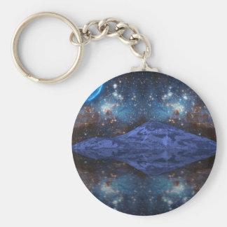 Extraterrestrial Fantasy Basic Round Button Keychain