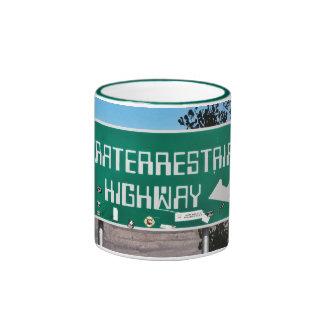 Extraterrestrial Highway Sign mug
