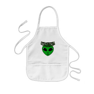 EXTRATERRESTRIAL KIDS' APRON