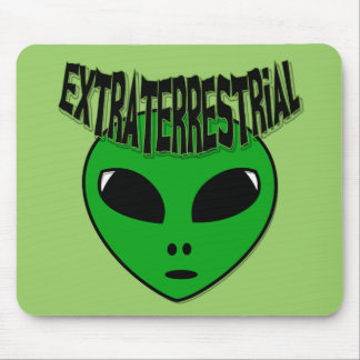 EXTRATERRESTRIAL MOUSE PAD