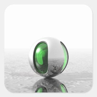 Extraterrestrial Square Sticker