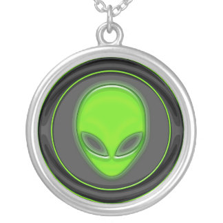 Extraterrestrial Trail Head Personalized Necklace