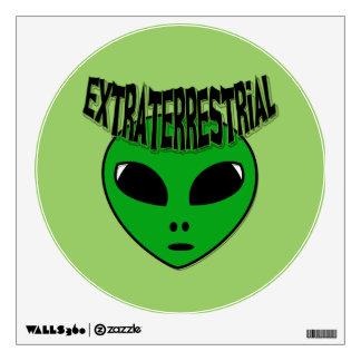 EXTRATERRESTRIAL WALL STICKER