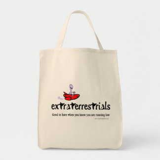 Extraterrestrials… Bolsa Tela Para La Compra