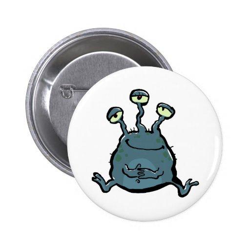 extraterrestrian 2 inch round button