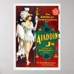 Extravagancia del Jr. de Aladdin Posters