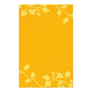 Extravagancia floral papelería personalizada