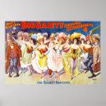 Extravagancia grande de la alegría posters