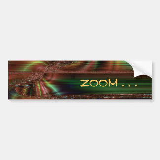 Extravagant Blur Car Bumper Sticker