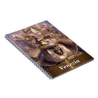 Extravagant Mask From The Carnival of Venice Notebook