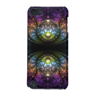 Extravagant purple Fractal Art iPod Touch (5th Generation) Case