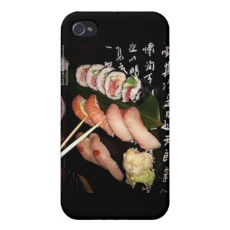 Extravagant Sushi by Rick London Designs Cover For iPhone 4