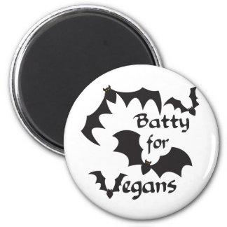 Extravagantemente para los veganos imán redondo 5 cm