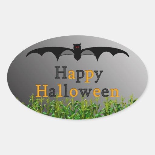 Extravagantemente: Pegatina del feliz Halloween