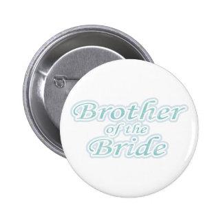 Extravaganza Brother of Bride Pinback Button