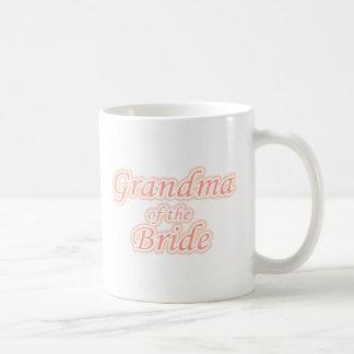 Extravaganza Grandma of Bride Classic White Coffee Mug