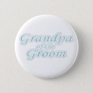 Extravaganza Grandpa of Groom Button