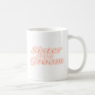 Extravaganza Sister of Groom Classic White Coffee Mug