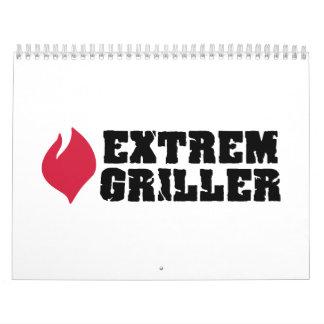 Extrem Griller Calendar
